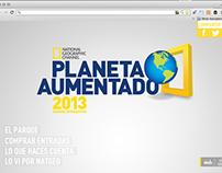 """[NATGEO] Parque """"Planeta Aumentado"""" Website / Trivias"""