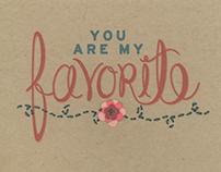 Sewn Greeting Card