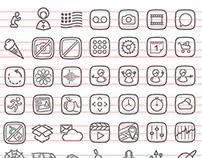 1000 icons project