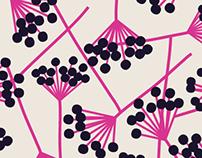 berries, pattern