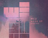 MC2 - WeshUp Remixes | cover