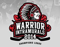 Elizabeth Forward Intramural Champions Logos