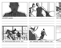 Storyboards - The World Is Not Enough