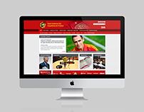 Real Federación Española de Fútbol Web Proposal