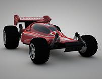 Modelado 3d Carro de juguete