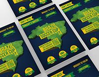 Brazil Soccer Cup Flyer