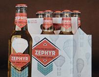 Zephyr Beer Packaging Design