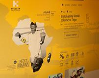 Website for Kulczyk Foundation