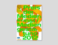 Preis der Medienkunst/Mediengestaltung 2012