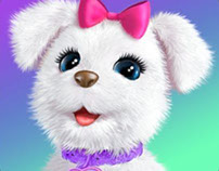 Hasbro Furreal Friends App Game: art assets design