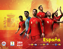 FIFA World Cup 2014 Nations Wallpapers