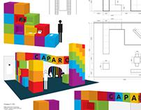 exhibition design for CAPAROL