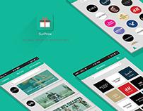 SurPrize App design