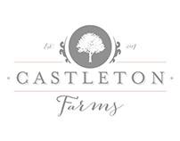 Castleton Farms Branding with Website Design