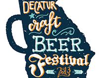 Decatur Beer Fest Logo Comp