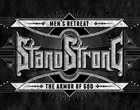 """Custom Lettering """"Stand Strong"""""""