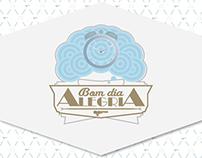 """Bom Dia Alegria"" - Corporative & Graphic ID"