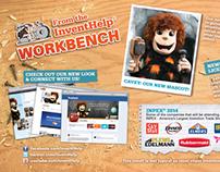 InventHelp Workbench Postcard