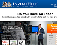 InventHelp Kevin Harrington Landing Page