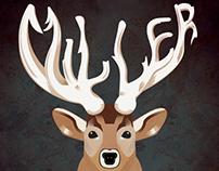 Miller Deer Prints
