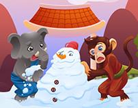 Christmas Facebook Cover and Postcard - SammyK Media