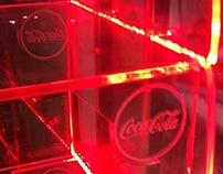 Coke Transparent Gondola