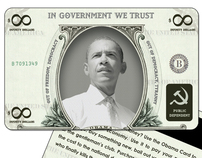 Obama card design. I didn't want to do this project.