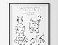 Monster`s x-ray