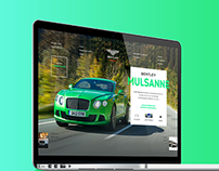 Bentley Moscow Website