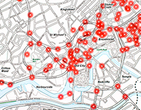 CCTV Map of Bristol city centre
