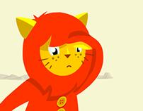 Lion kid, nursery rhymes
