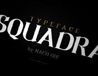 SQUADRA Typeface