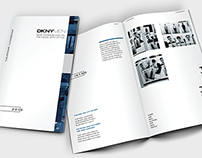 DKNY Calendar Lookbook.