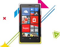 Nokia Lumia 920 key visual