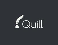 Logo design for Quill.com
