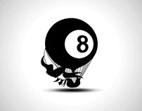 "My Personal ""Black Eight"" Iconographic Logo - (2004)"
