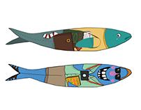 Sardines lisbon city festival 2014
