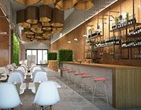Restaurant Design-The honeycomb
