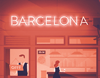 Some bar in Barcelona - Showusyourtype & OFFF 2014