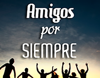 """Tarjeta """"Amigos por Siempre"""""""