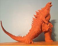 Godzilla 2014 Maquette (WIP)