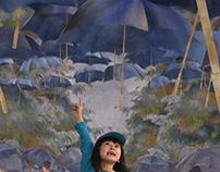 The Umbrellas: I Love Art Series