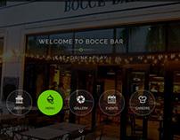 Bar Website