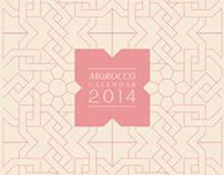 MOROCCO HOUSE CALENDAR 2014