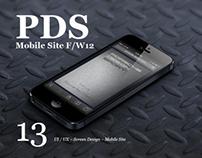 PORSCHE DESIGN SPORT Mobile Site F/W12 ~ Acne