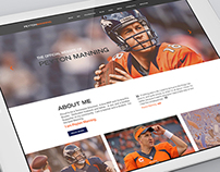 Peyton Manning's Official Website