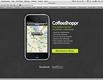 Coffeeshoppr App for iPhone