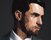 Low Poly Aaron Ramsey