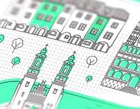 Poznań City Icons