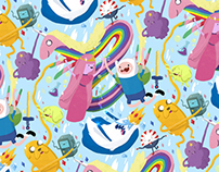 Adventure Time Pattern